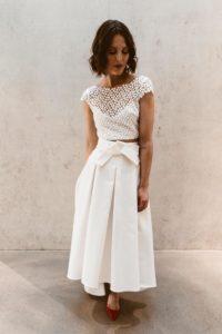 2 Teiler Brautoutfit Kleid heiraten Isi Lieb